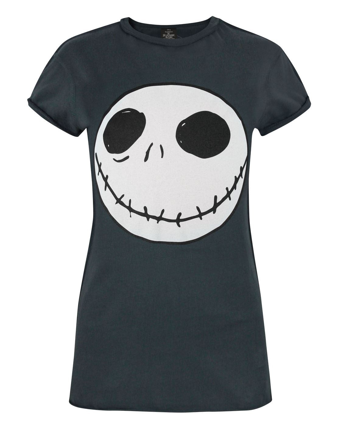 Nightmare Before Christmas Jack Reverse Seam Women\'s T-Shirt ...