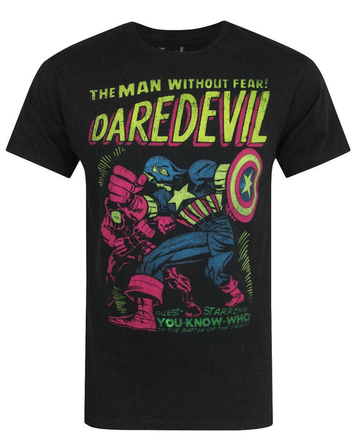 Jack Of All Trades Daredevil Neon Cover Men's T-Shirt