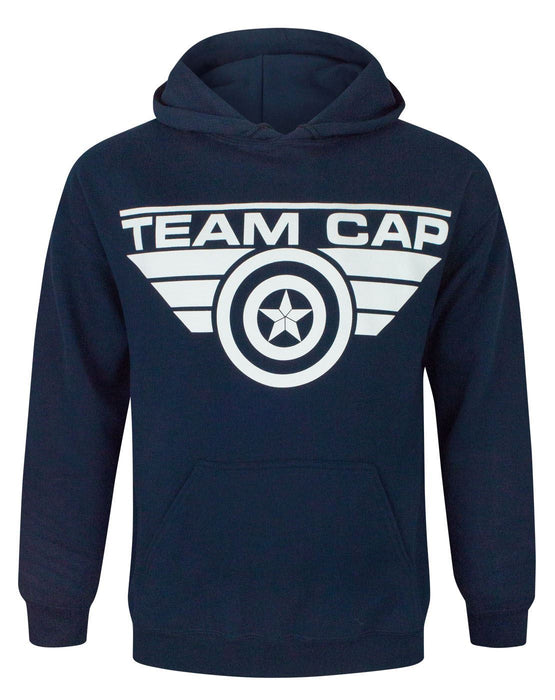 Captain America Civil War Team Cap Men's Hoodie