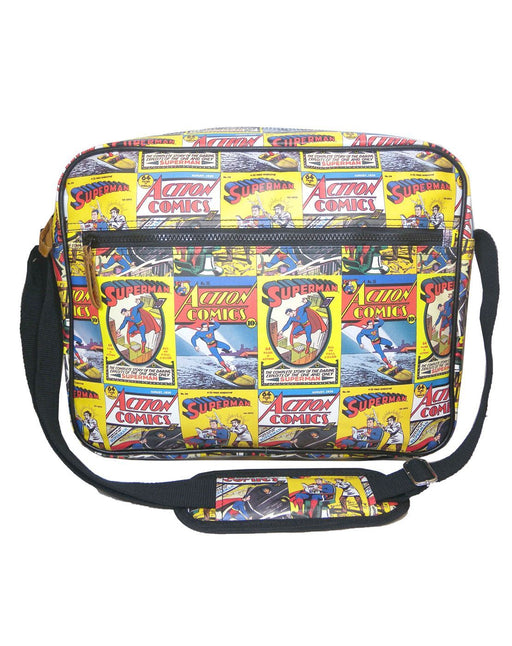 Superman Comic Strip Messenger Bag