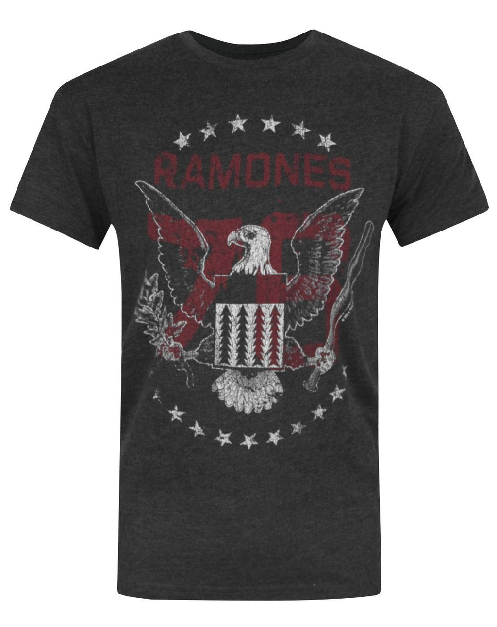 Amplified Ramones 76 Tour Men's T-Shirt