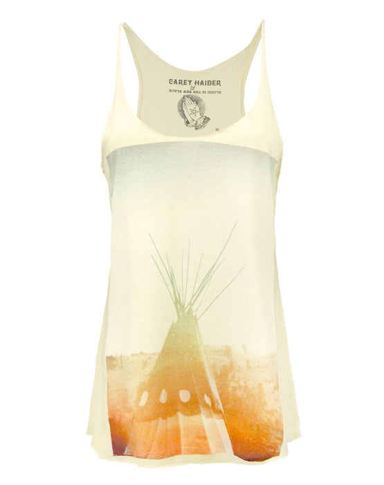 Blood Is The New Black Teepee Women's Vest