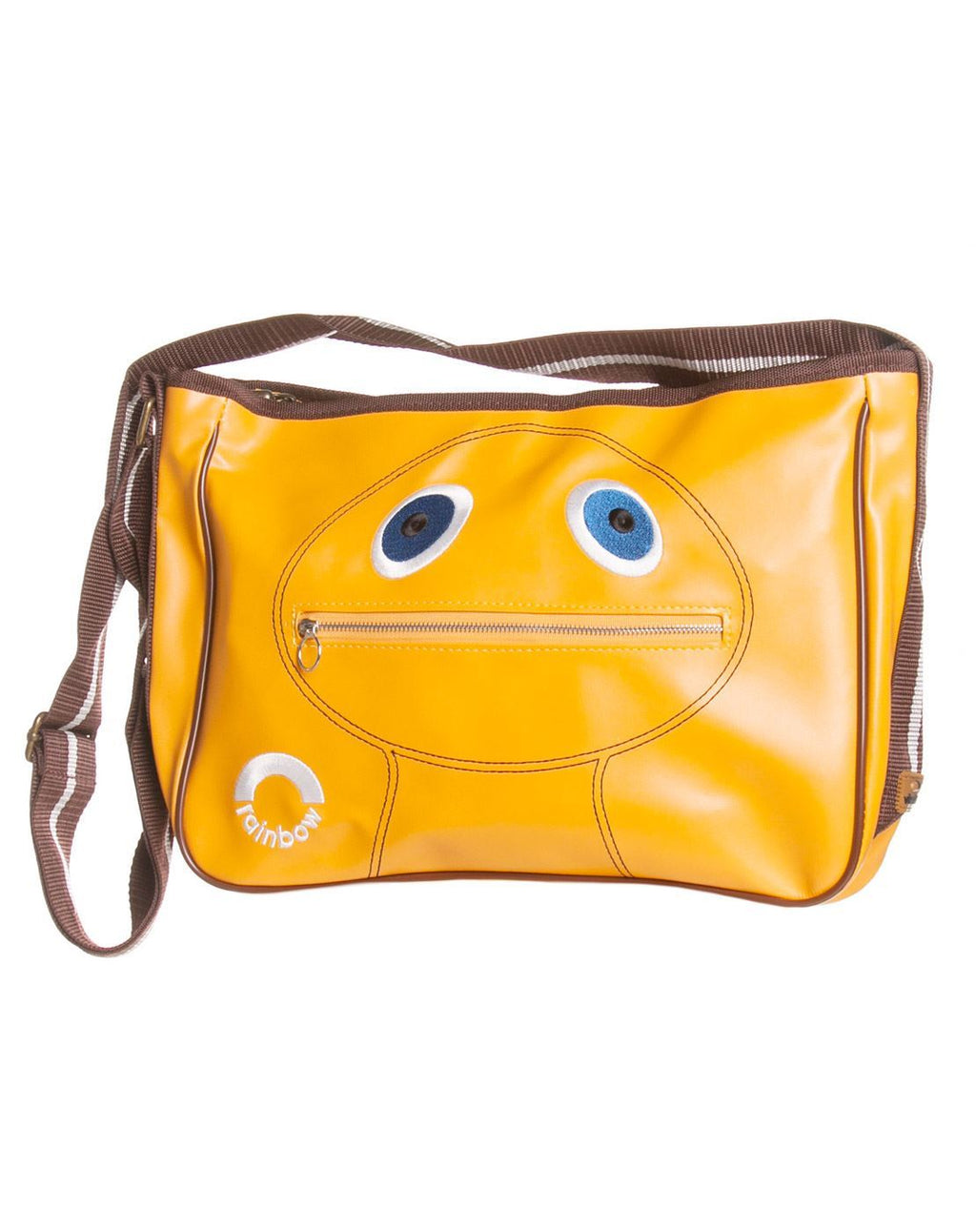 Rainbow Zippy Satchel Bag