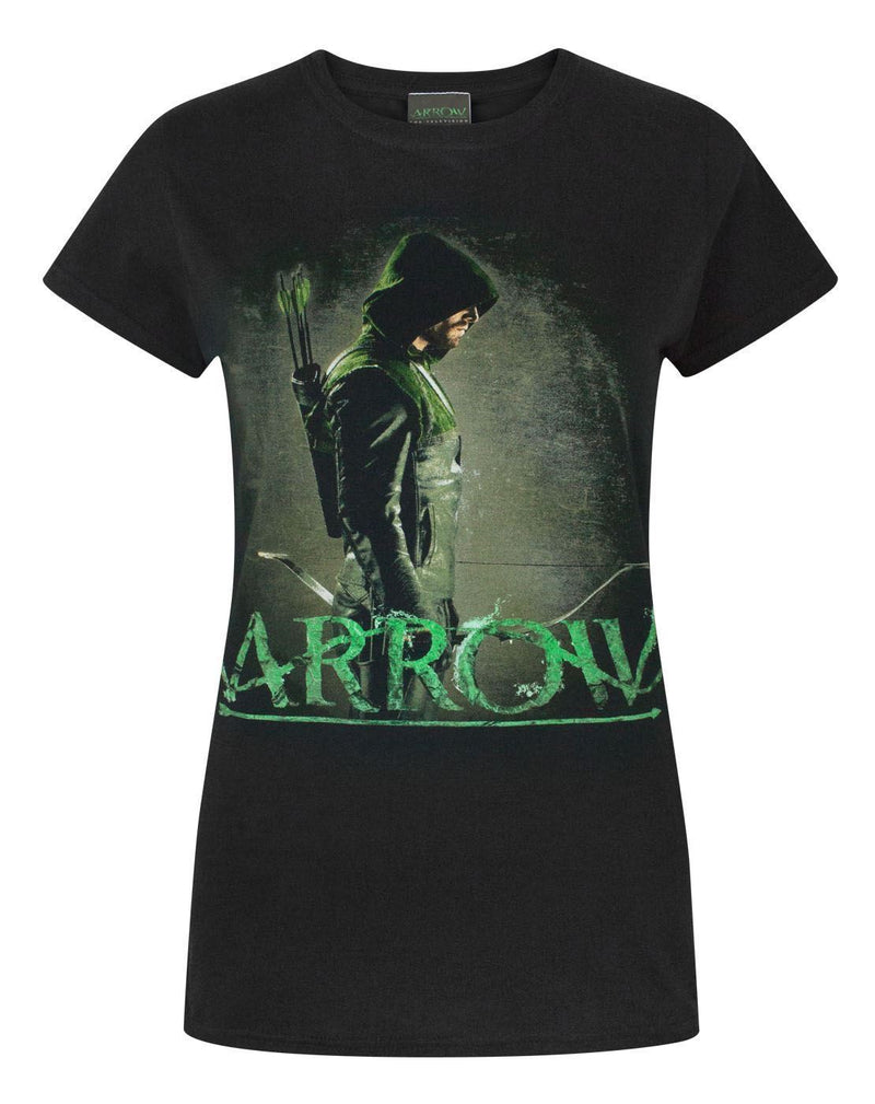 DC Comics Arrow Women's Black T-Shirt