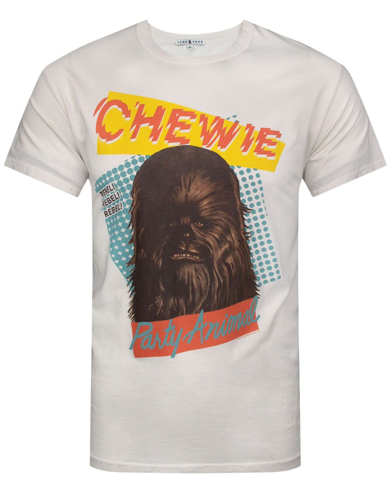 Junk Food Star Wars Chewie Party Animal Men's T-Shirt