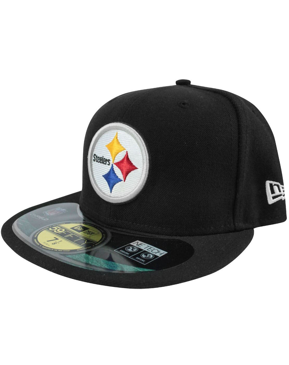 40da0544b New Era 59Fifty NFL Pittsburgh Steelers Cap – Vanilla Underground