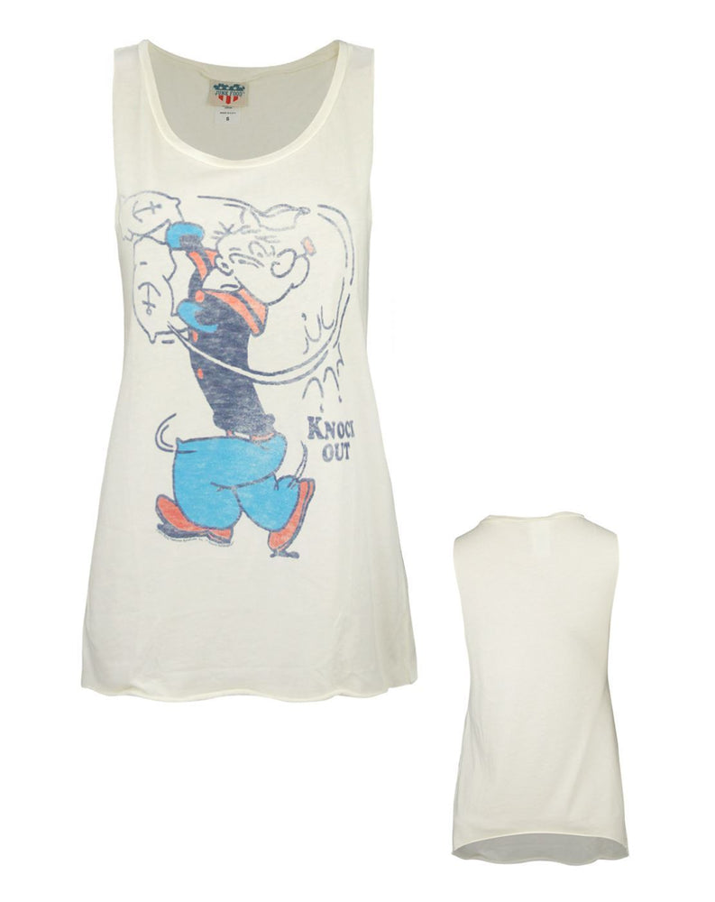 Junk Food Popeye Knock Out Women's Vest