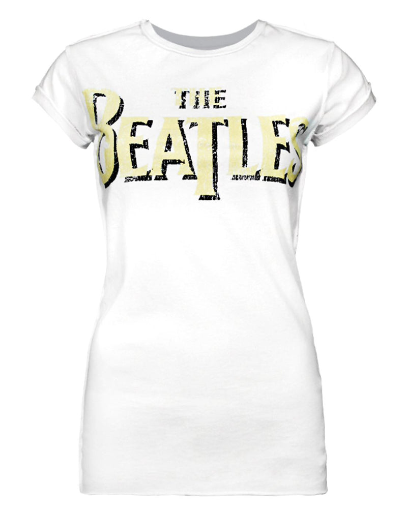 Amplified The Beatles Logo Women's T-Shirt