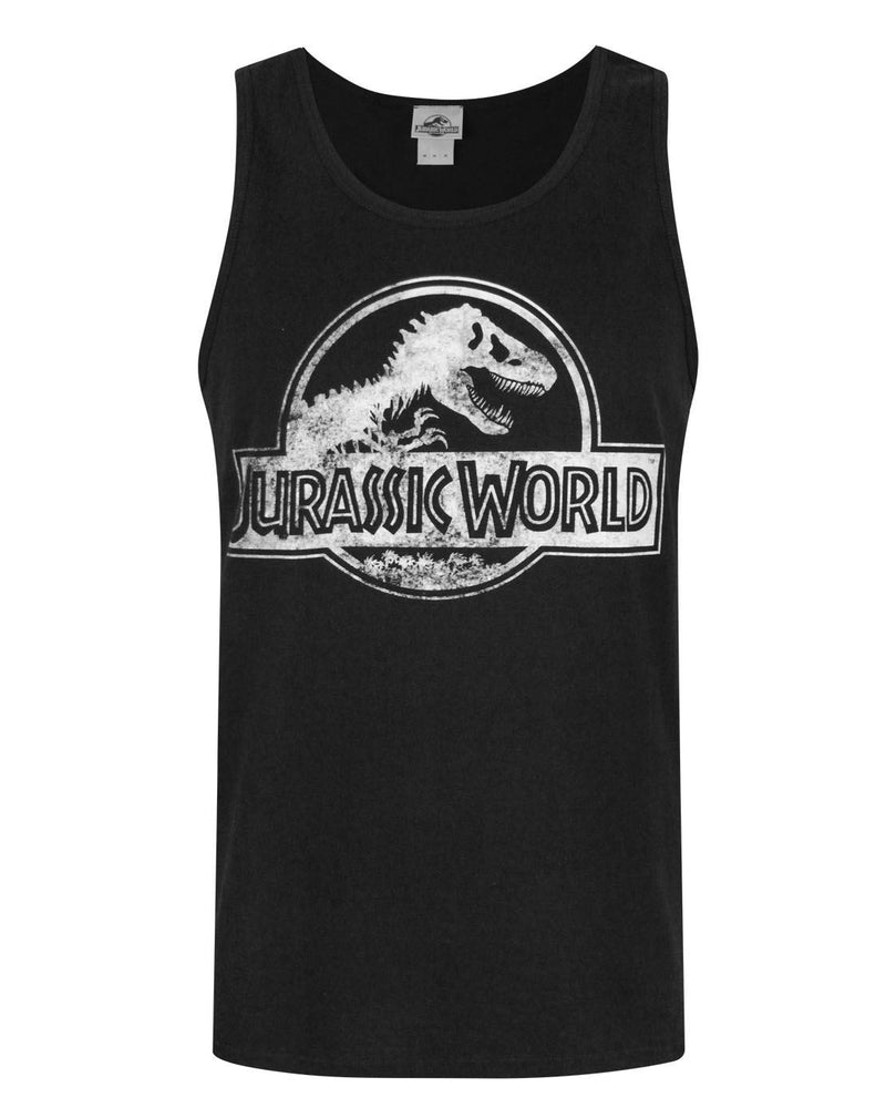 Jurassic World Distressed Logo Men's Vest