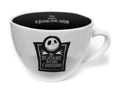 The Nightmare Before Christmas Jack Skellington Cappucino 22oz Mug