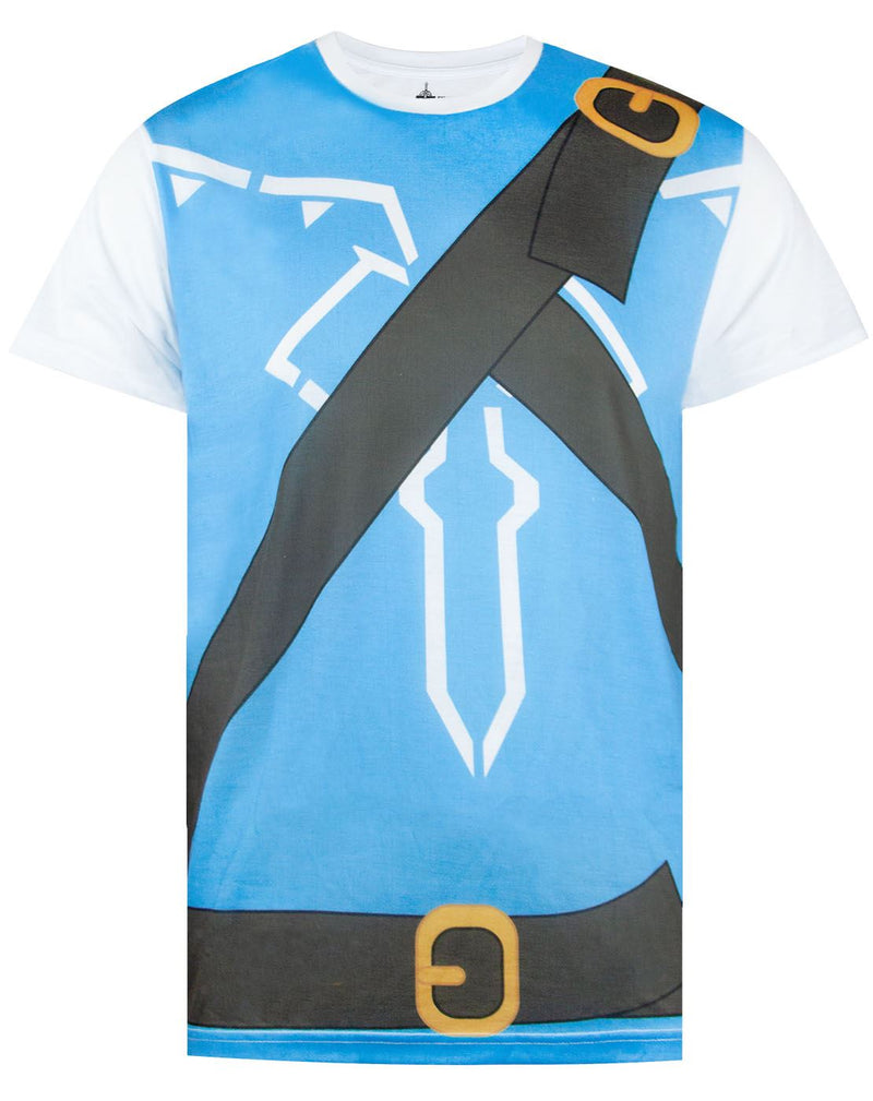 The Legend Of Zelda Breath Of The Wild Costume Mens T-Shirt