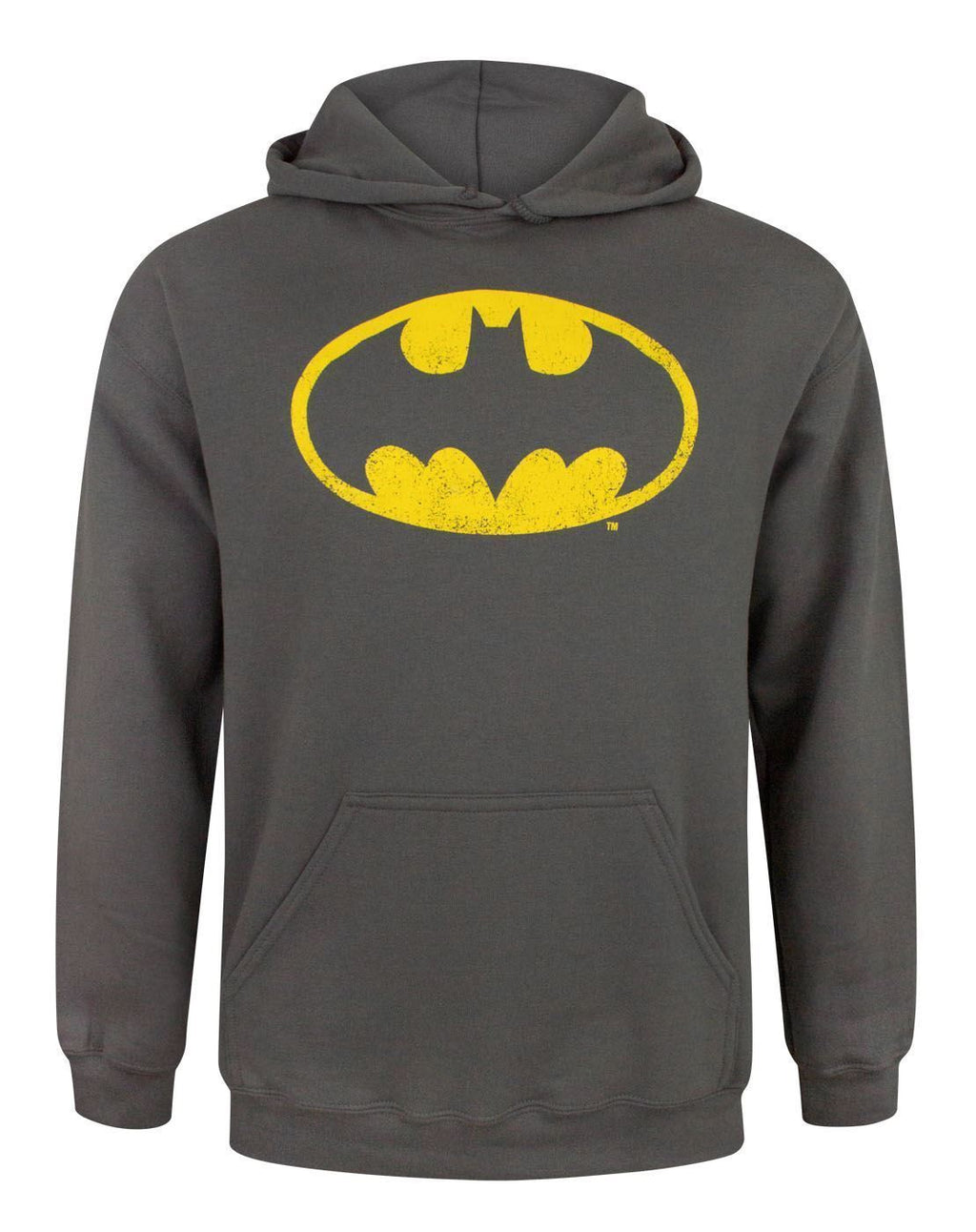 Batman Distressed Logo Men's Hoodie