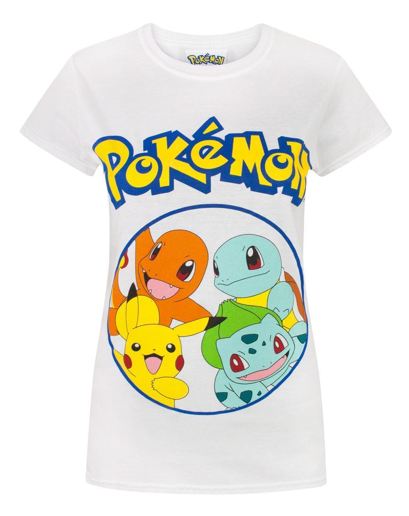 Pokemon Kanto Starters Women's T-Shirt
