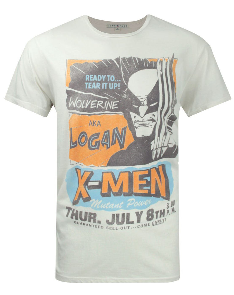 Junk Food X-Men Wolverine Tear It Up Men's T-Shirt