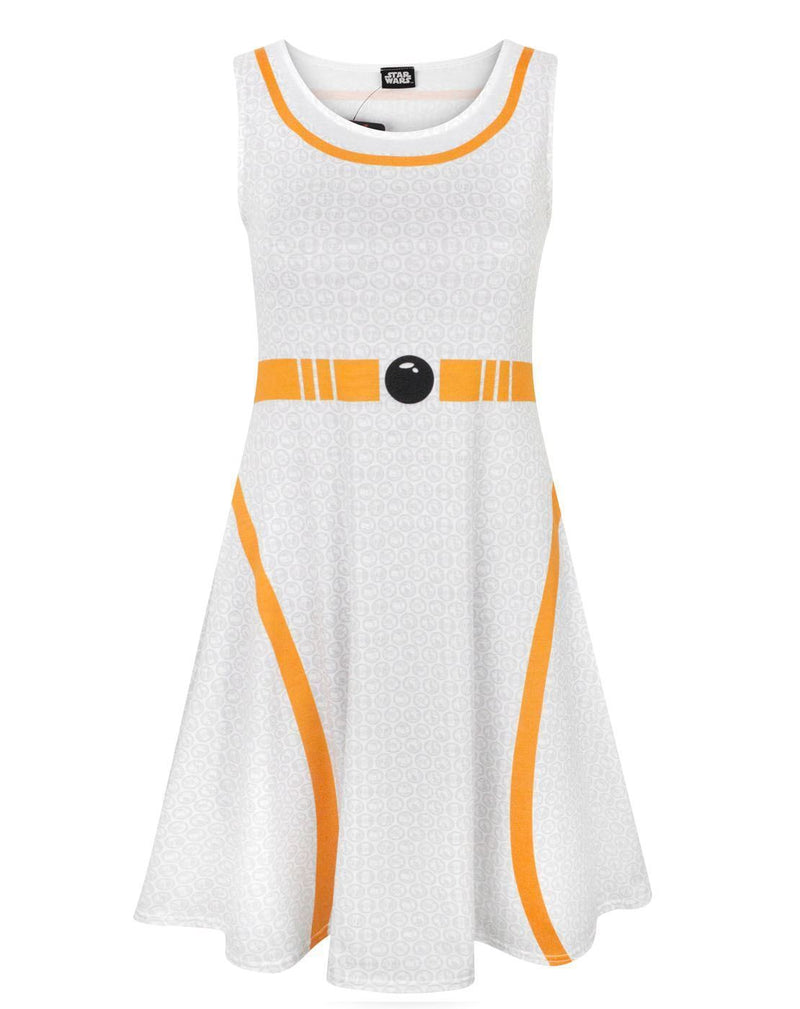 Star Wars BB-8 Women's Cosplay Costume Dress