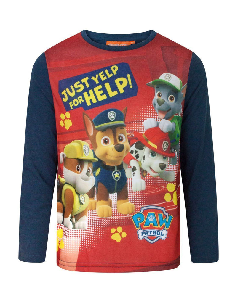 Paw Patrol Yelp For Help Boy's Longsleeved T-Shirt