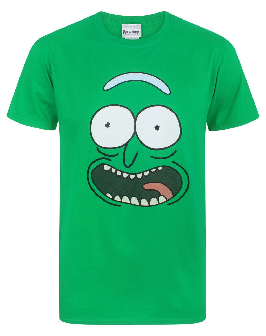 Rick And Morty Pickle Rick Face Men's T-Shirt
