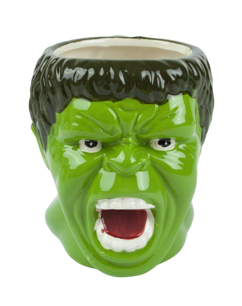 Marvel Hulk Face Molded Mug