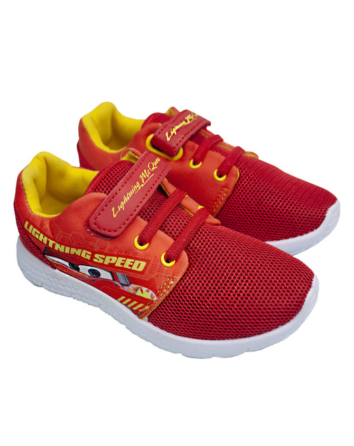 Disney Pixar Cars Lightning Mcqueen Boy's Casual Trainer Shoes