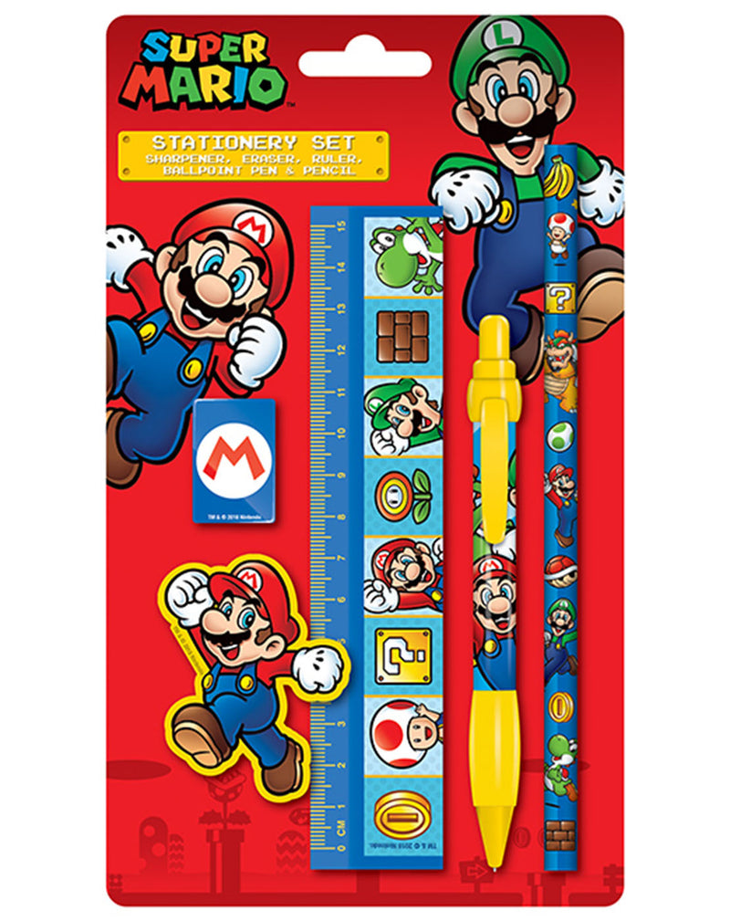 Super Mario Stationary Set