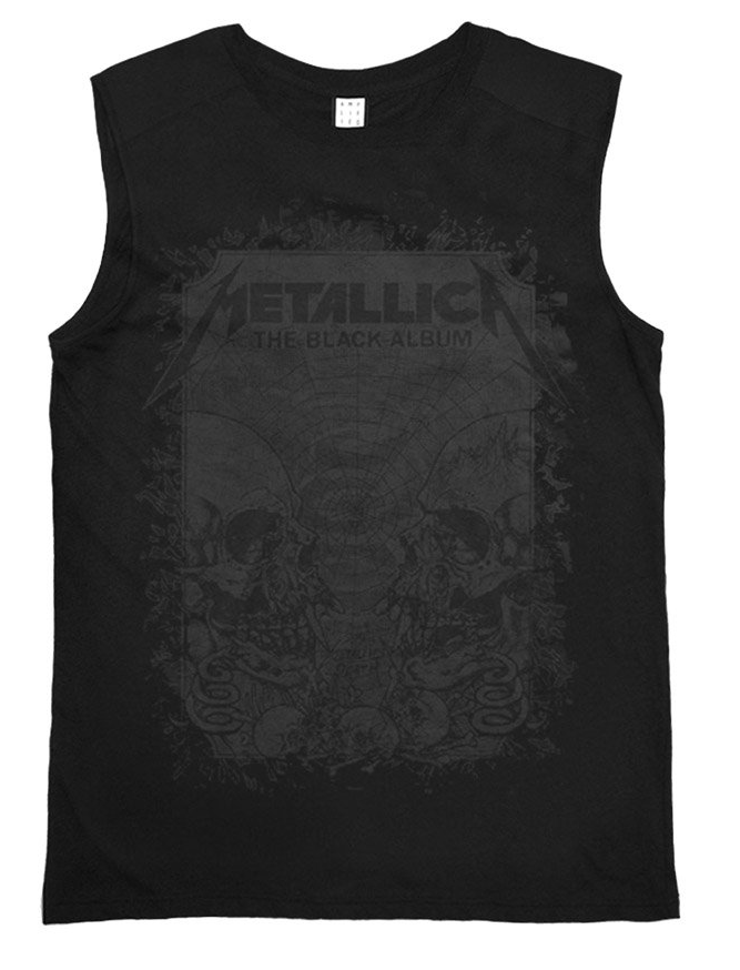 Amplified Metallica The Black Album Women's Sleeveless T-shirt