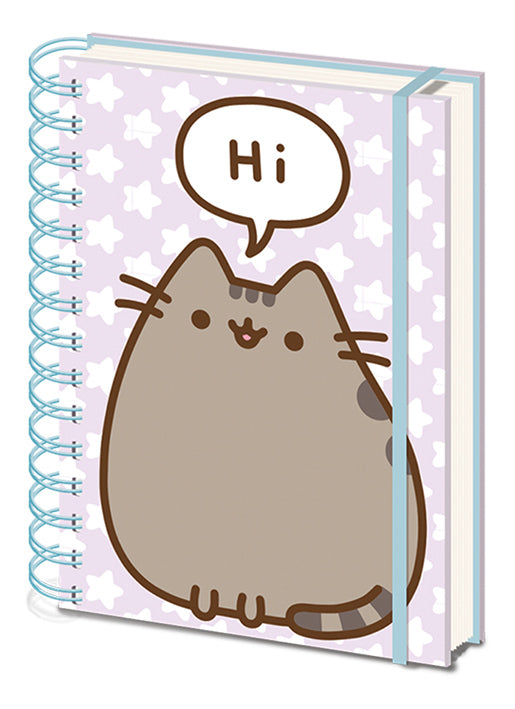 Pusheen Says Hi Notebook