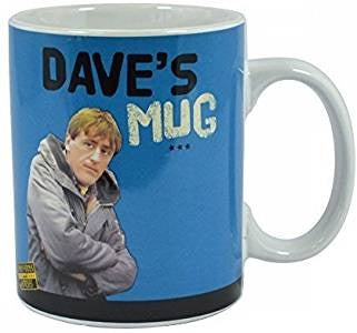 Only Fools And Horses Dave Rodney Blue Ceramic 15oz / 350ml Mug