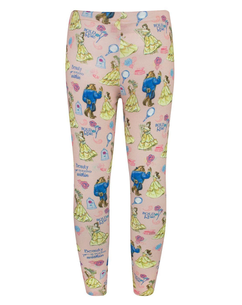 Disney Beauty And The Beast Girl's Leggings