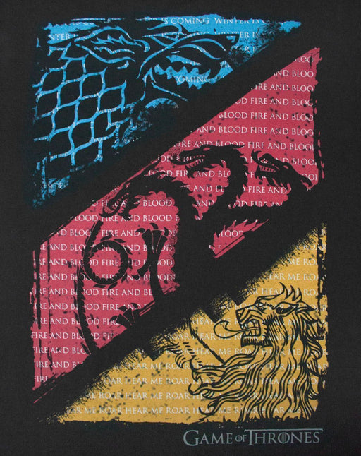 Game Of Thrones House Sigil Quotes Men's T-Shirt