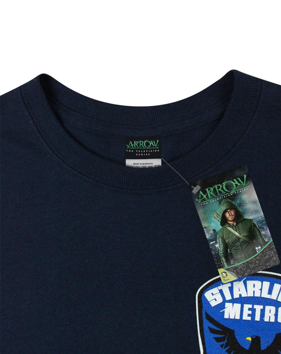 Arrow Starling City Metro Police Men's T-Shirt