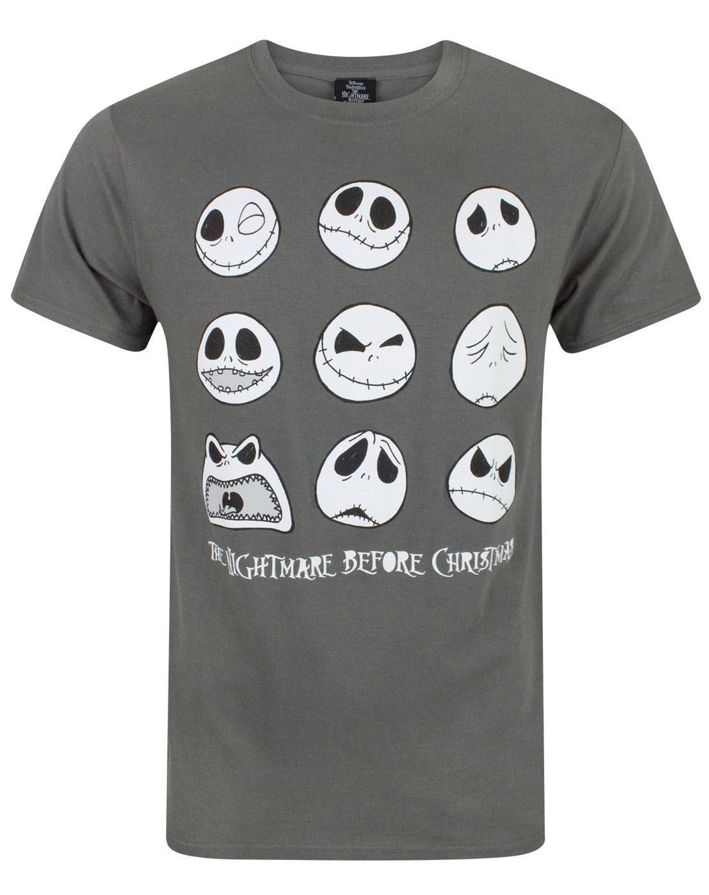 Nightmare Before Christmas Jack Expressions Men's T-Shirt