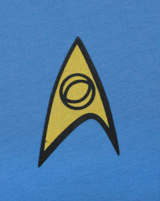 Star Trek Science and Medical Uniform Men's T-Shirt