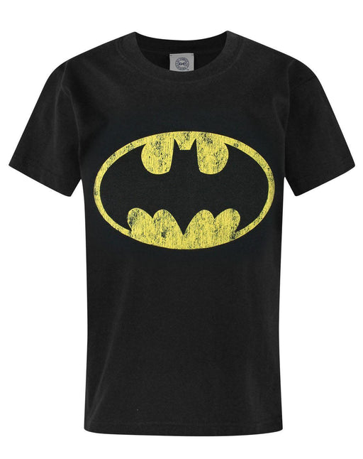 Batman Distressed Logo Boy's T-Shirt