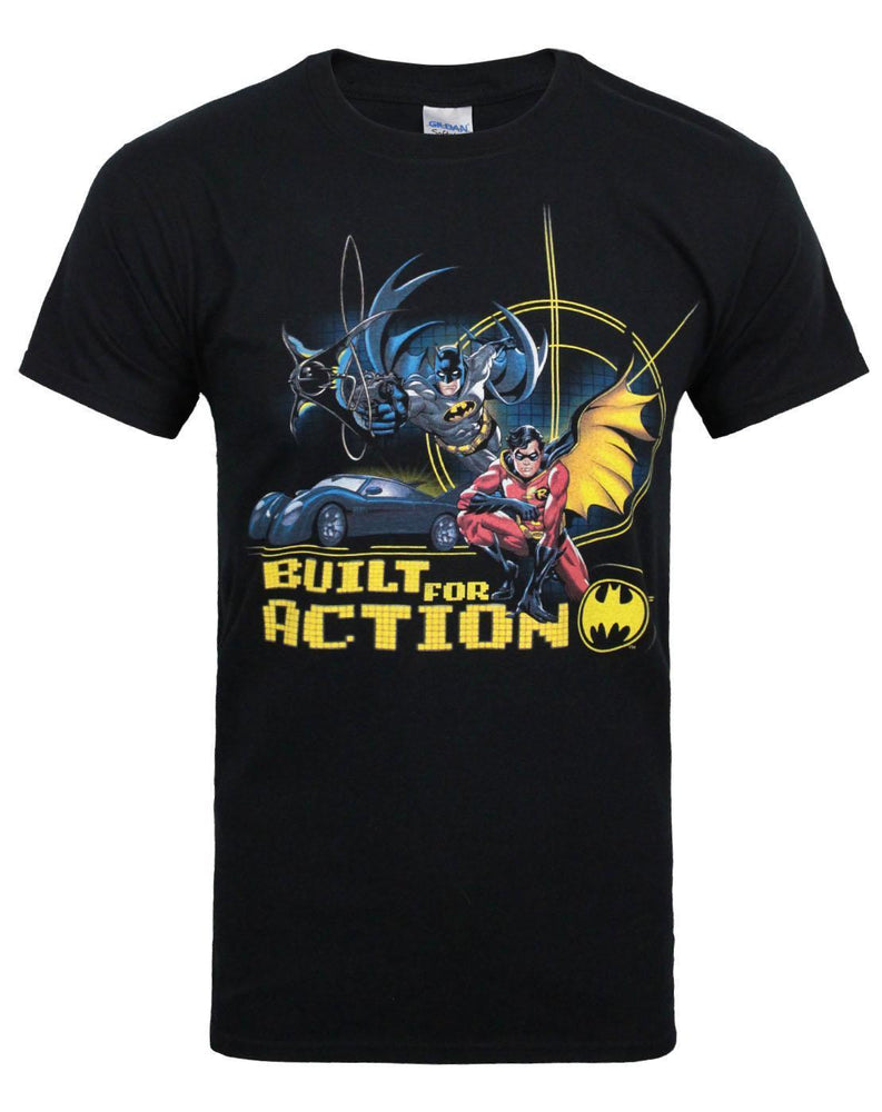 Batman Built For Action Men's T-Shirt