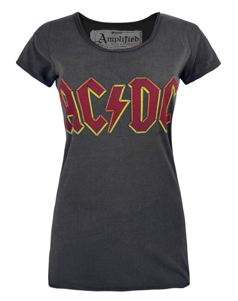 Amplified AC/DC Logo Women's T-Shirt