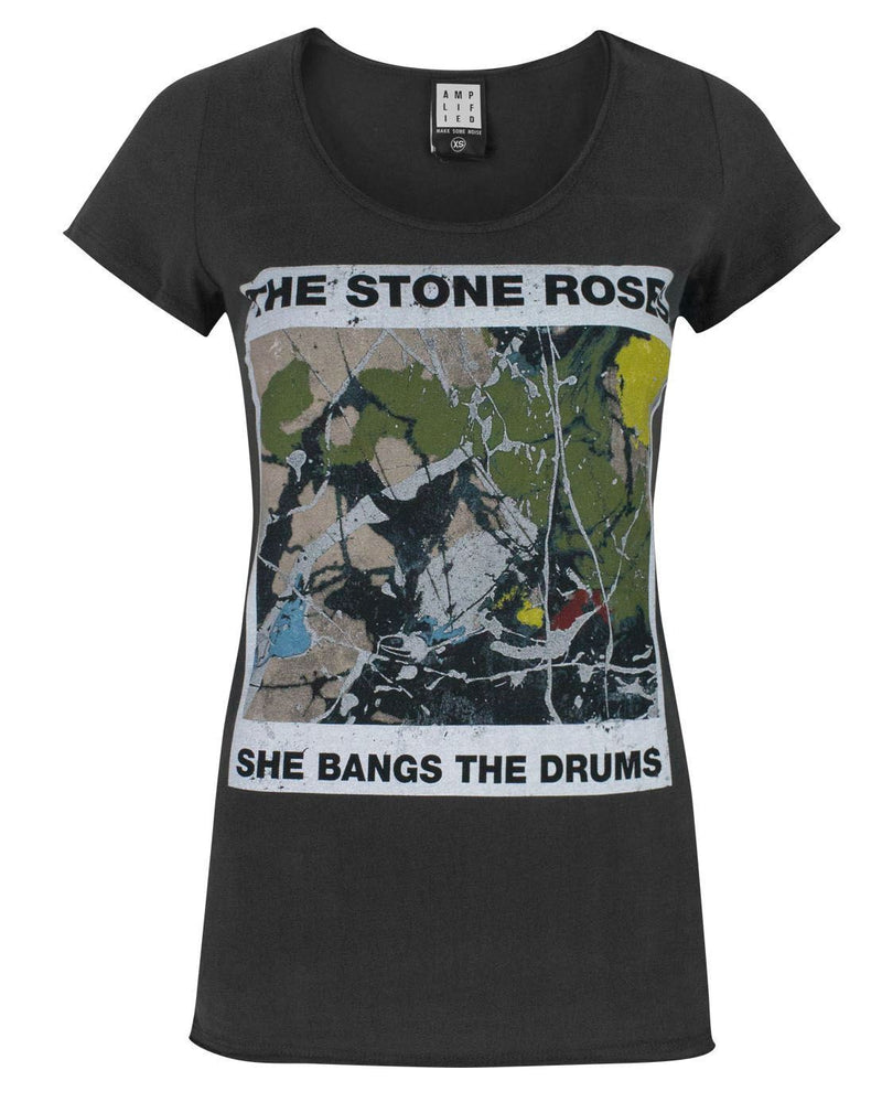 Amplified Stone Roses She Bangs The Drums Women's T-Shirt