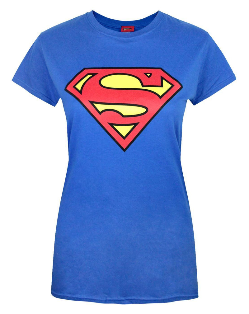 Superman Shield Logo Women's T-Shirt