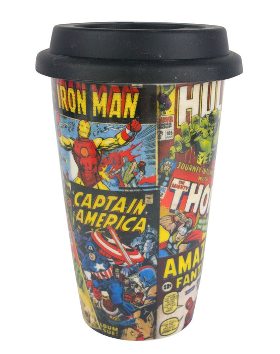 Marvel Comics Travel Mug