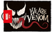 Marvel We Are Venom Door Mat
