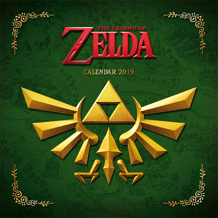 The Legend Of Zelda 2019 Calendar