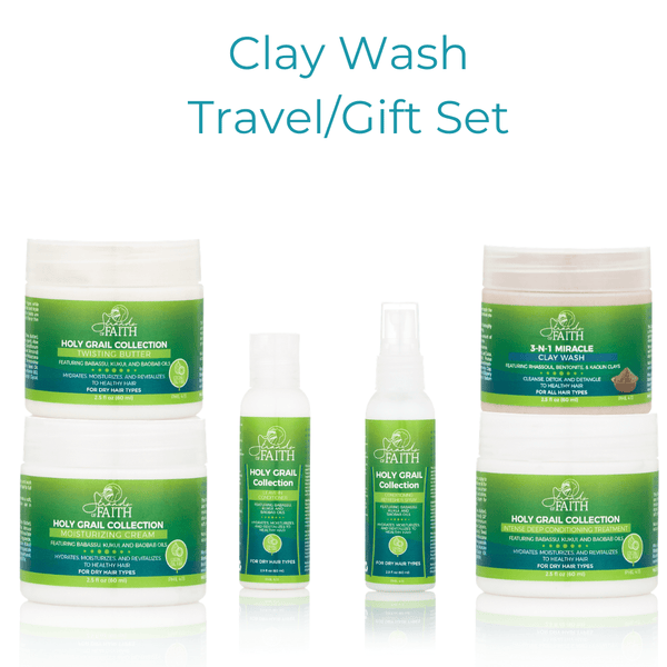 Clay Wash Travel Set/Gift Set