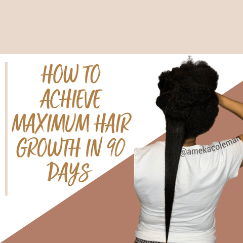 Course: How To Achieve Maximum Hair Growth in 90 Days