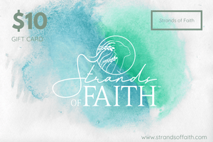 Strands of Faith e-Gift Card | STRANDS OF FAITH