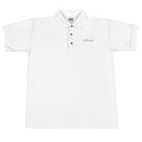 Faithimisitic Embroidered Polo Shirt