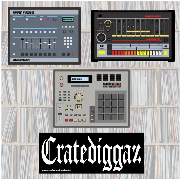 Beatmakers Sticker Pack