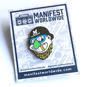 Humpty Tribe Enamel Pin