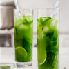 Cucumber Lime Mint Matcha Iced Tea
