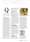 HARPER NUTRITION - TOP 3 TIPS FOR BEING HEALTHY WITHOUT DIETING - BEST HEALTH MAGAZINE COLUMN