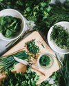HOW TO KEEP FRESH GARDEN HERBS ALL WINTER LONG