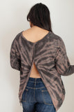 Eye Of The Tiger Tie Dye Top
